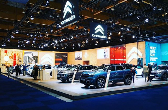 Citroën au salon de Bruxelles 2020 : sur le stand demain en direct