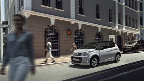 Citroën présente la C1 Urban Ride au Royaume-Uni