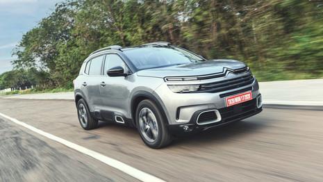 Citroën dévoile les prix du C5 Aircross en Inde
