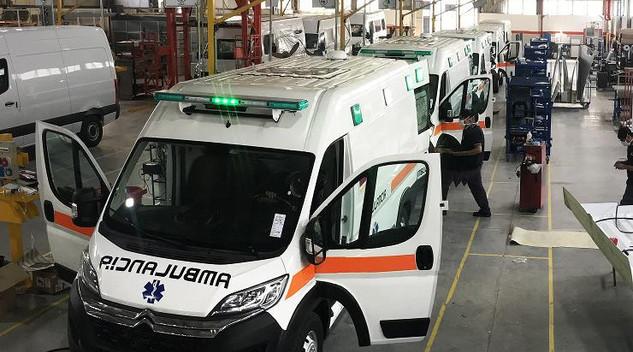 Citroën livre trois Jumper modifiés pour lutter contre le Covid-19 en Argentine