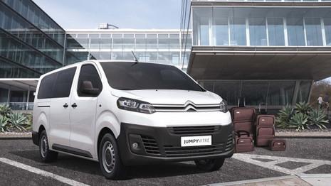 Citroën présente le Jumpy vitré au Brésil