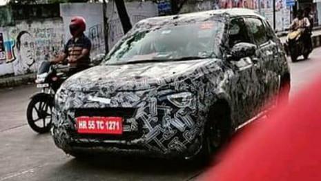 Future Citroën C3 de nouveau aperçue en Inde