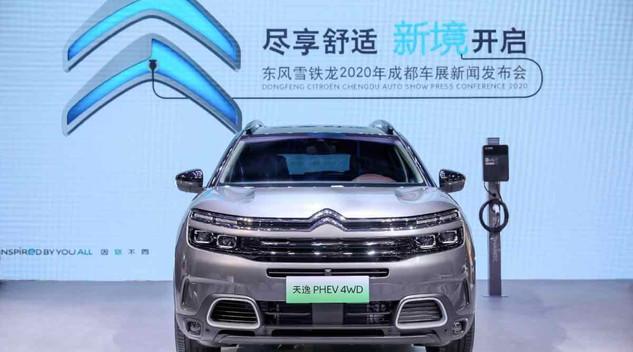 Juillet 2020 - Marché auto CHINE : Le C5 Aircross meilleure vente de Citroën