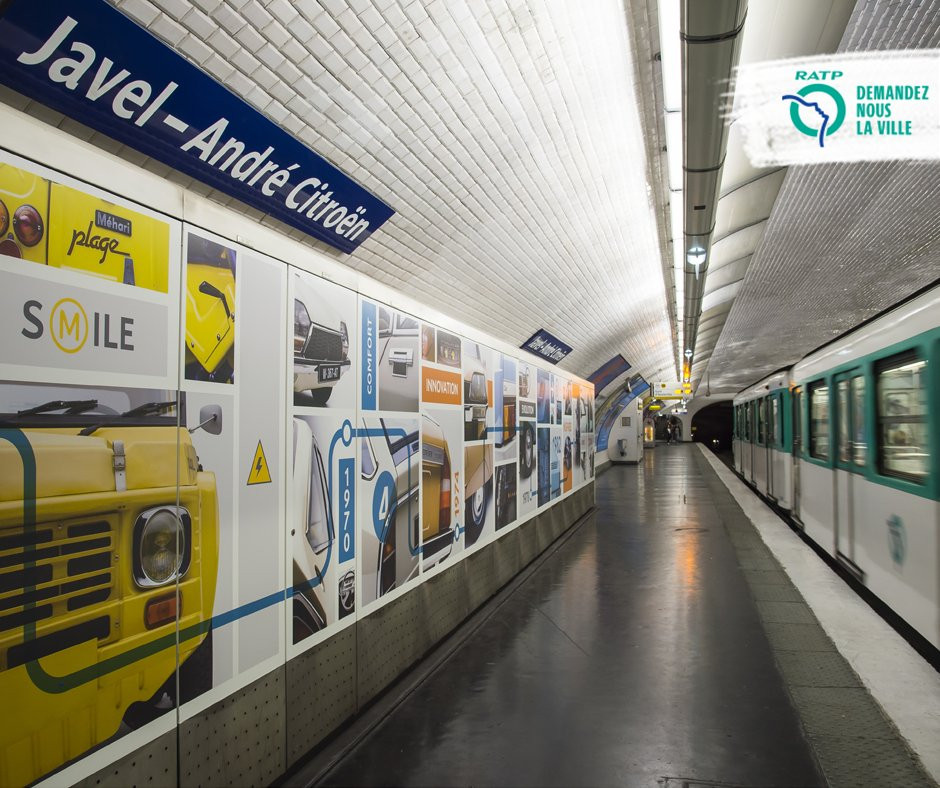 passionnément citroen, blog citroen, citroen, station andré citroen, metro paris citroen