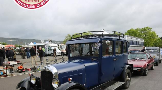 Le conservatoire Citroën organise sa deuxième bourse classic le 26 Avril prochain