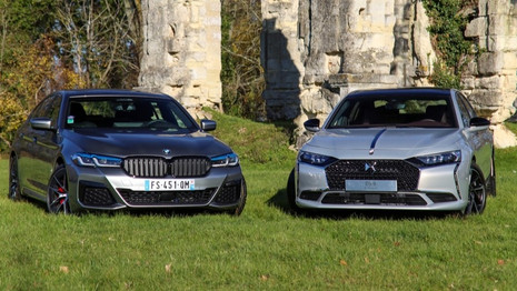 Comparatif : La DS9 affronte la BMW Série 5