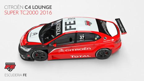 Citroën s'engage en championnat TC2000 en Argentine