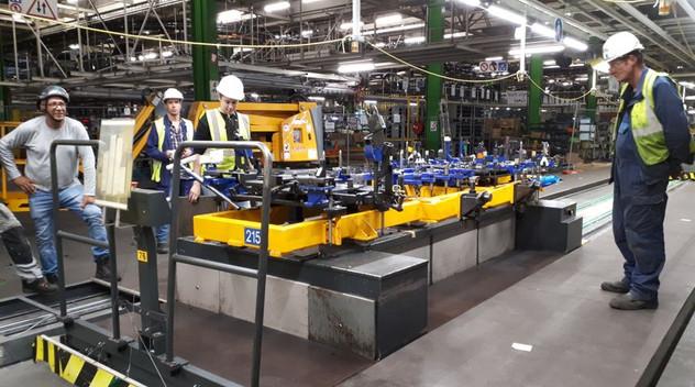 Pendant l'été, l'usine de Sochaux en profitent pour se rénover