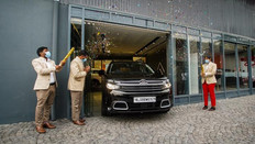 Citroën delivers the first C5 Aircross to India