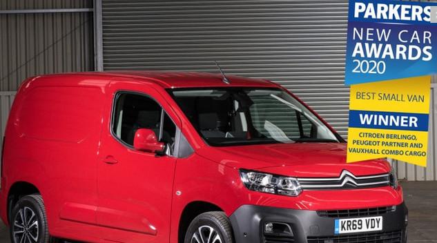 Citroën : Le Berlingo Van remporte le prix du meilleur petit utilitaire au Royaume-Uni