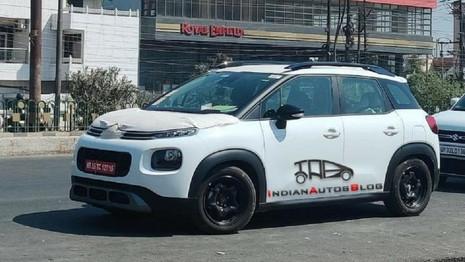 Le Citroën C3 Aircross surpris en test en Inde