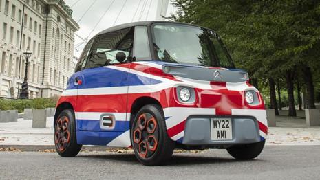 C'est officiel, Citroën commercialise AMI au Royaume-Uni