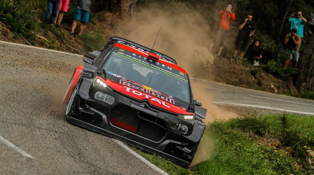 Citroën se montre confiant en vue du prochain rallye d'Espagne