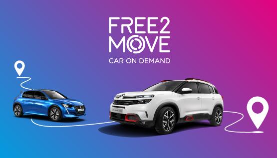 PSA : Free2Move déploie son offre Car On Demand