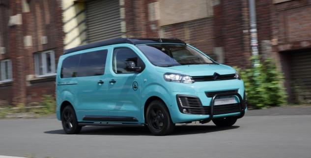 Une deuxième nouveauté pour Citroën au Caravan Salon de Düsseldorf