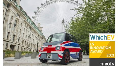 Citroën remporte deux prix pour ses véhicules électriques au Royaume-Uni