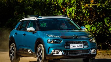 Au Brésil, le SUV Citroën C4 Cactus élu meilleur SUV 2019