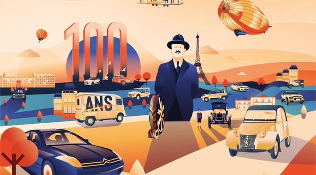 Citroën Argentine récompensé de trois Webby Awards  pour sa campagne sur le centenaire
