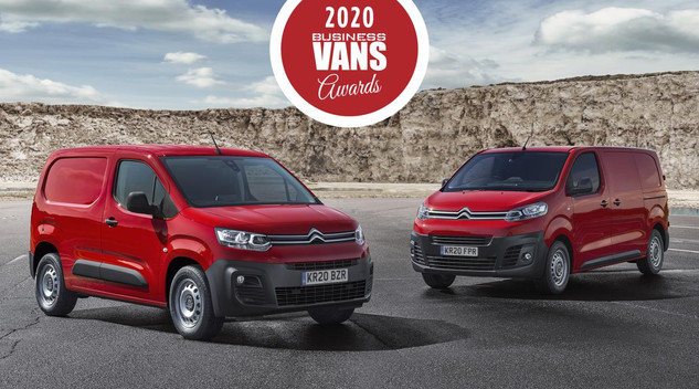 Les Citroën Berlingo Van et Jumpy reçoivent les Business Vans Awards au Royaume Uni