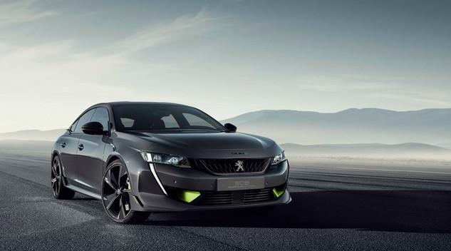 Peugeot dévoile le concept 508 Peugeot Sport Engineered  : 400ch, hybride