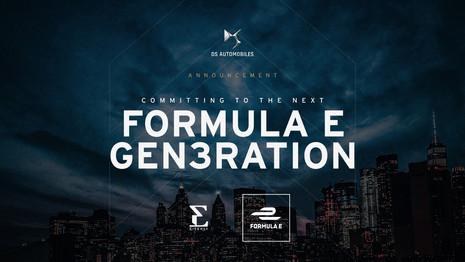 DS prolonge son engagement en Formula E jusqu'en 2026