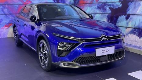 Nouvelle Citroën C5 X : Aussi présentée en Chine