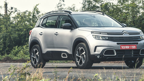 Citroën C5 Aircross : la commercialisation débute le 7 avril en Inde