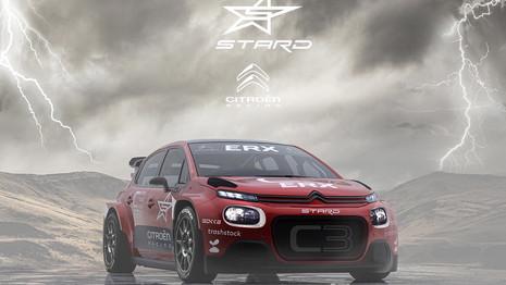 Citroën s'engage en Rallycross avec une C3 ERX