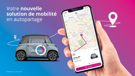 PSA : Fee2Move intègre la Citroën AMI à sa flotte