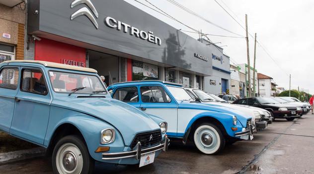 Citroën fête son centenaire en Argentine