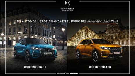 Le DS 7 Crossback, meilleure vente premium en Argentine