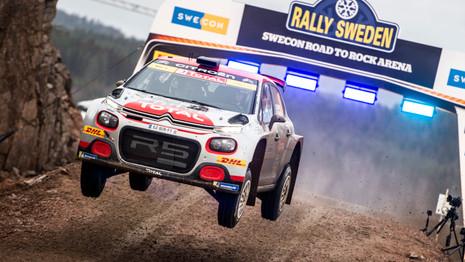 Deuxième victoire consécutive pour la Citroën C3R5
