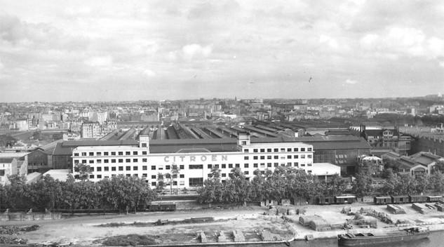 Histoire Citroën : L'usine du Quai de Javel