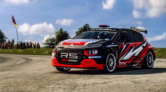 Citroën vous propose de prendre le volant virtuel d'une C3R5 en compétition