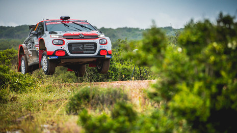 La Citroën C3R5 prête pour le Rallye de Finlande