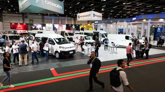 Citroën présent au salon Fenatran au Brésil