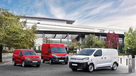 Offensive de Citroën sur les utilitaires électriques