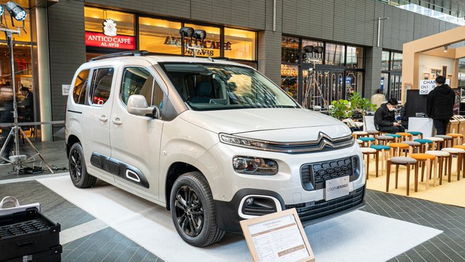 Citroën entame l'année en forme au Japon