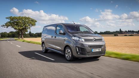 Citroën met à jour la gamme du  Jumpy au Royaume-Uni