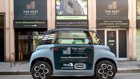 La Citroën AMI choisie pour être un véhicule de partage en copropriété