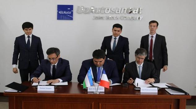 Le Groupe PSA quitte l'Ouzbékistan