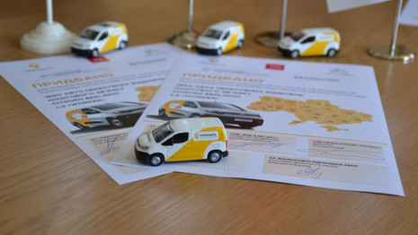 Citroën signe un contrat historique pour la poste Ukrainienne