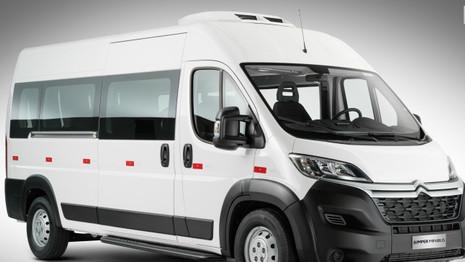 Citroën lance la version minibus du Jumper au Brésil