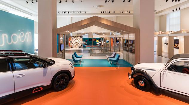 Italie : Citroën présent à la Milan Design Week avec un stand exceptionnel