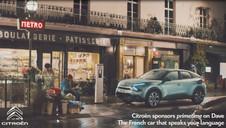 Citroën UK lance un partenariat avec la chaîne de télévision Dave