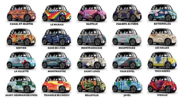 AMI aime Paris  : découvrez en vidéo les Citroën AMI en l'honneur des quartiers parisiens