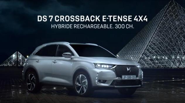 Le DS7 Crossback hybride récompensé au Festival auto pour son film publicitaire