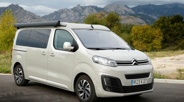 En Espagne, Citroën propose une version Campeur du SpaceTourer