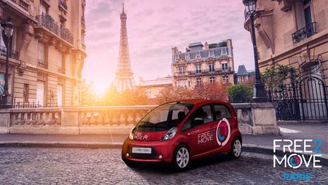 Test de Free2Move à Paris