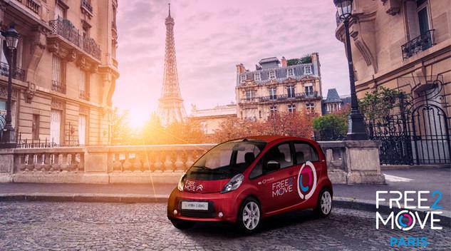 Retour sur le lancement de Free2Move à Paris